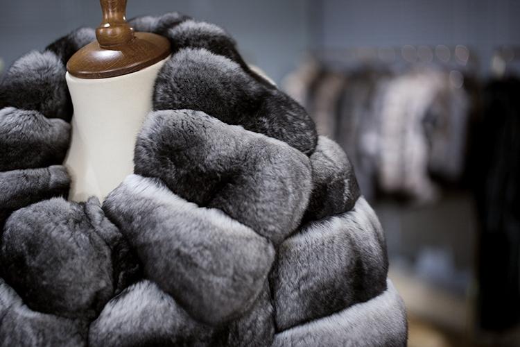 Chinchilla Fur Coat 164 Details 3 КУПИТЬ ШУБУ НА САДОВОДЕ