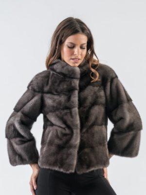 11.Blue Iris Short Mink Fur Jacket 5 900x797 300x400 КУПИТЬ ШУБУ НА САДОВОДЕ