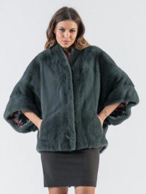 27.Dark Green Mink Fur Jacket 4 900x797 300x400 КУПИТЬ ШУБУ НА САДОВОДЕ