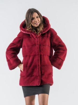 30.Cherry Red Mink Fur Jacket 5 900x797 300x400 КУПИТЬ ШУБУ НА САДОВОДЕ