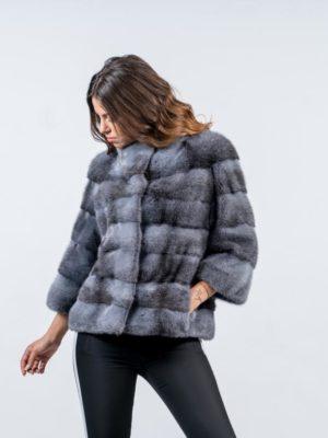4.Grey Cross Mink Fur Coat 5 900x815 300x400 КУПИТЬ ШУБУ НА САДОВОДЕ