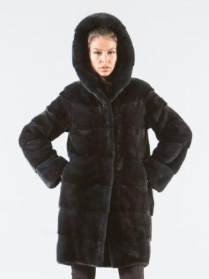 Blue Black Mink Fur Jacket With Hood 4 e1503662791362 900x1153 300x400 КУПИТЬ ШУБУ НА САДОВОДЕ