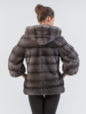 Blue Iris Mink Fur Jacket With Hood 6 900x980 300x400 КУПИТЬ ШУБУ НА САДОВОДЕ
